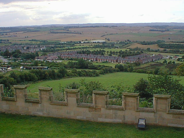Bolsover Castle - View of New Bolsover
