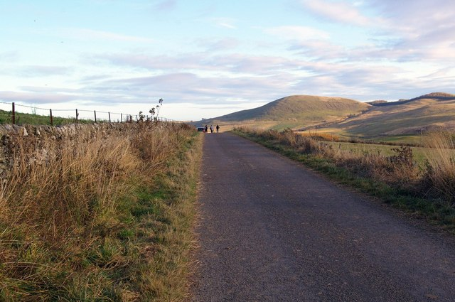 Road and Countryside looking eastwards from Balintore