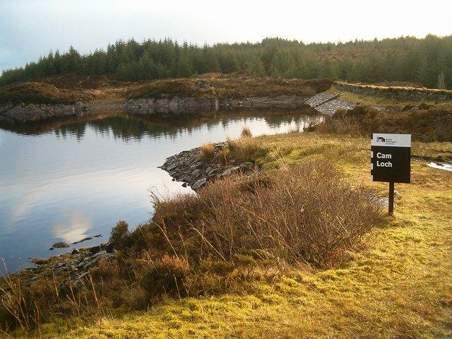 Cam Loch Dam