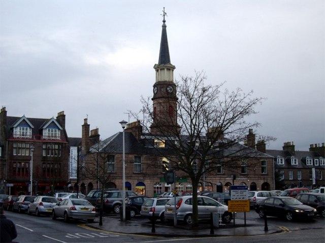 Market Square, Stonehaven