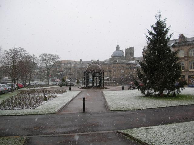 Royal baths in snow