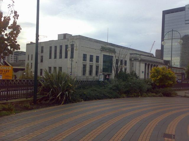 Former Central Television Studios Broad Street Birmingham