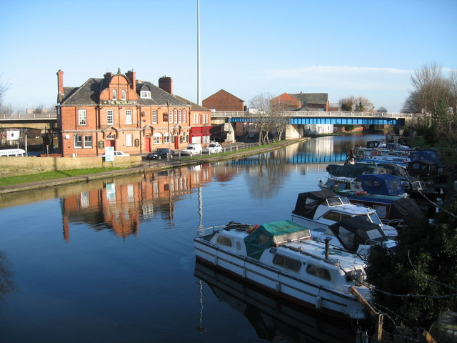 Canal Basin on Bridgewater Canal, Runcorn