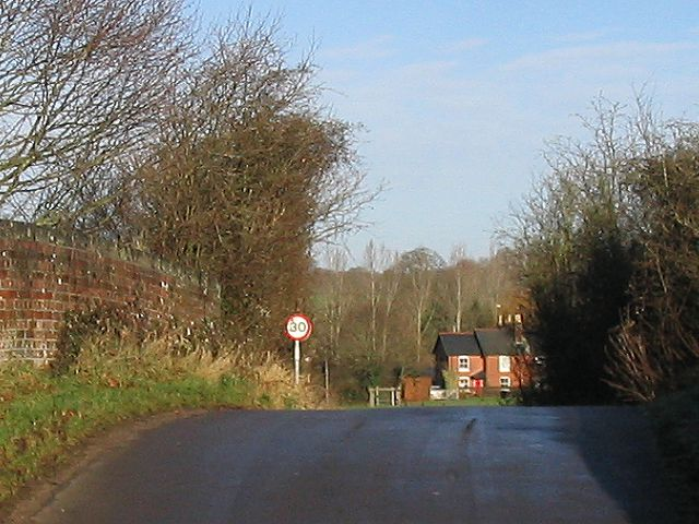 Bridge between Lockerley Green and Top Green