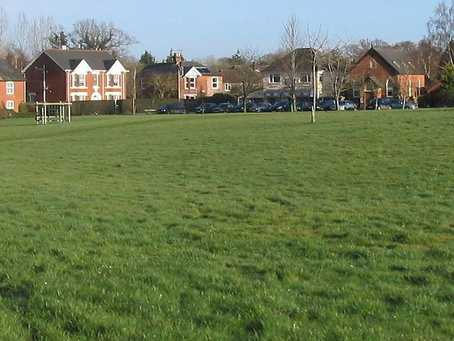 Sunday morning on Lockerley Green