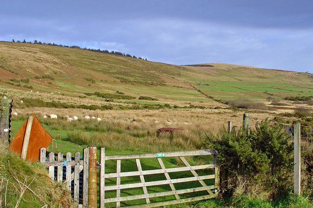 Meadows at the foot of the Preseli