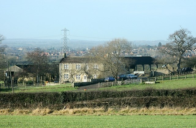 2008 : View over Hagg Hill Farm