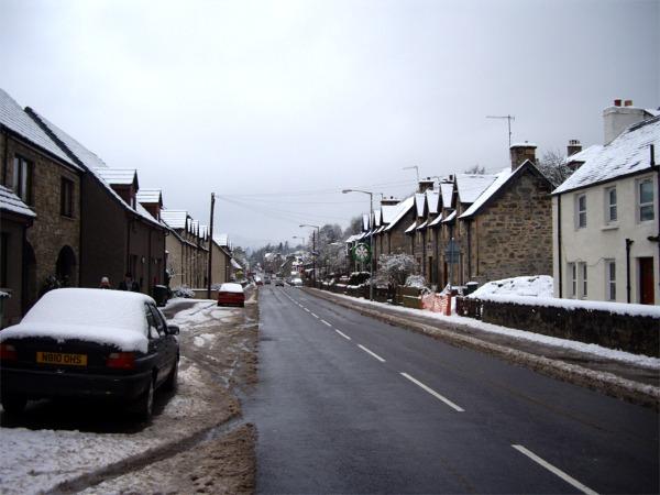 A86 through Kingussie