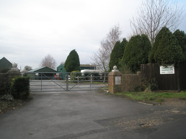 Another caravan site