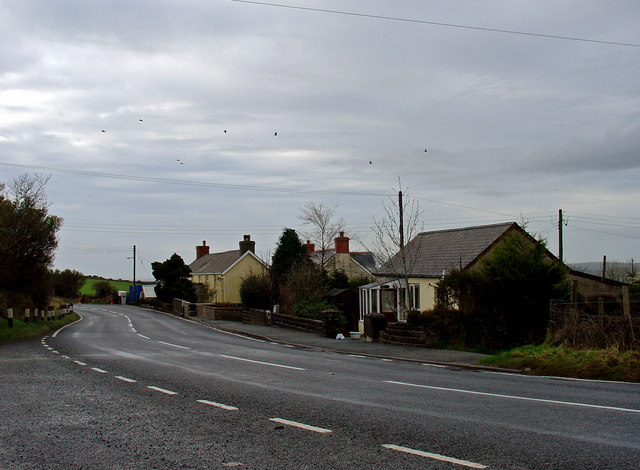 Iet-y-bwlch houses