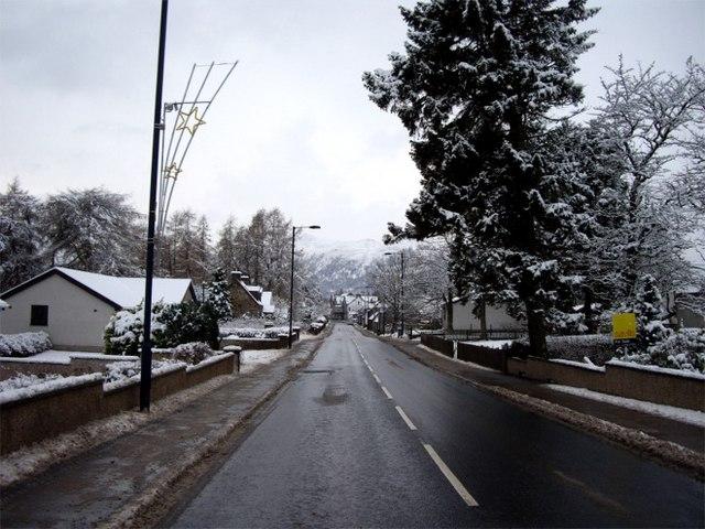 A86 through Newtonmore