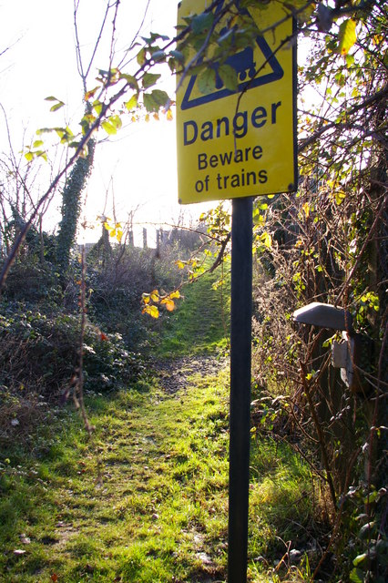 Beware of trains (but not here)
