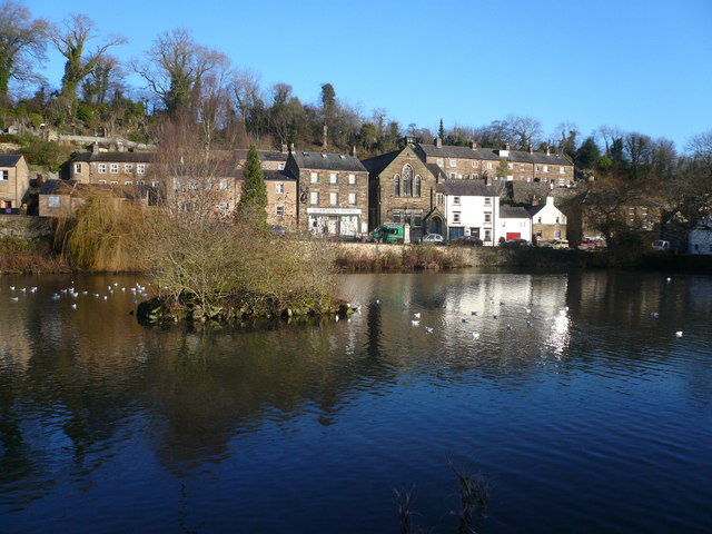 Cromford - A5012 View of Scarthin