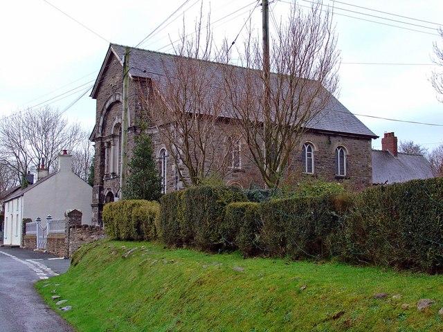Hebron Chapel, Glandwr