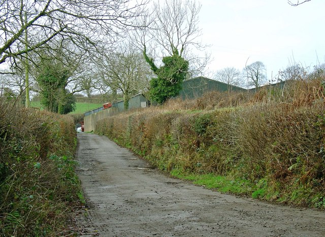 Lane to Trehenry