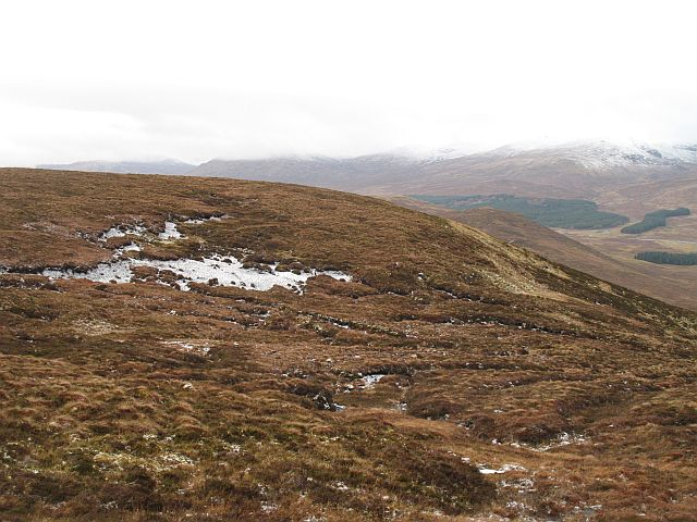 Glenshirra Forest: West side of Creag Liath