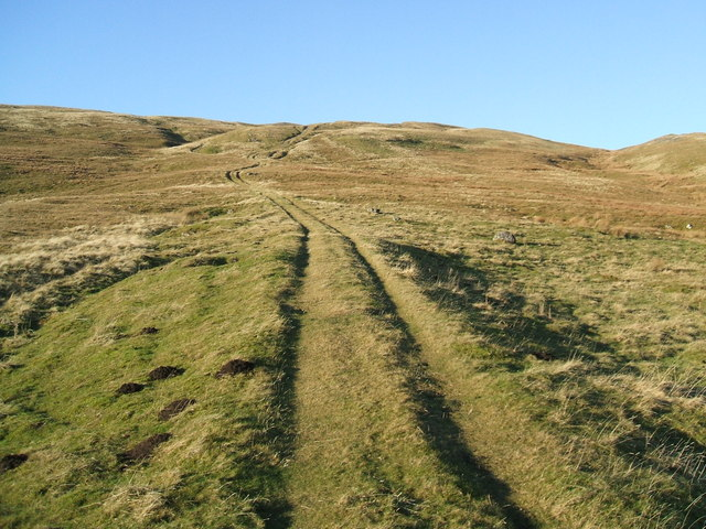 Ancient track up Tinside Rigg