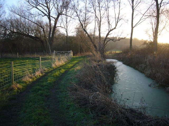 Small tributary of River Stour