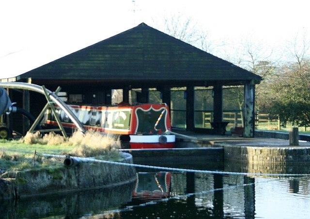 2008 : Drydock at Semington