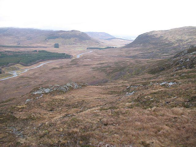 North side of Creag Liath