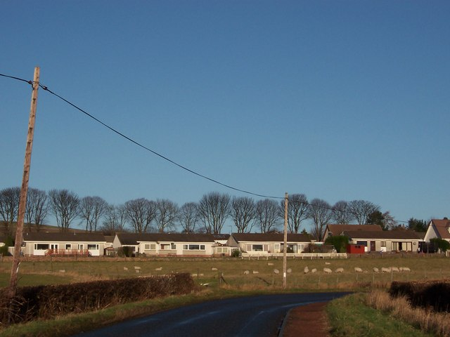 Dairsie from the south