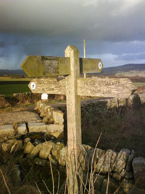 Sun on the Signpost