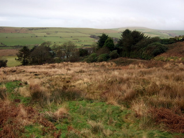 View of Cwm Anghof and Cerrig Lladron