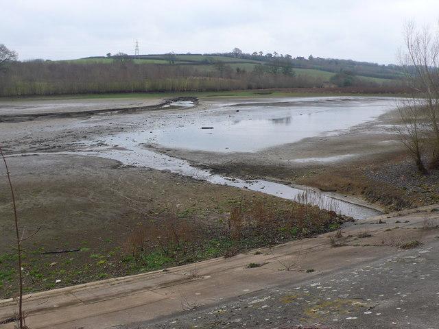 Sutton Bingham Empty Reservoir !