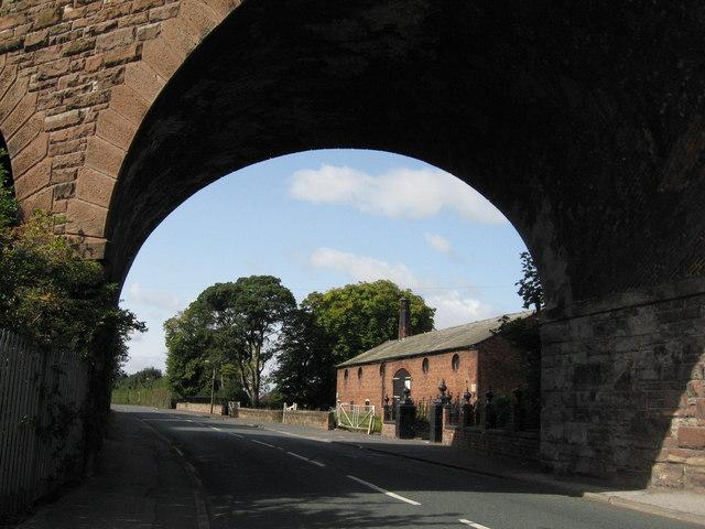 Railway Bridge and Heyes Barn