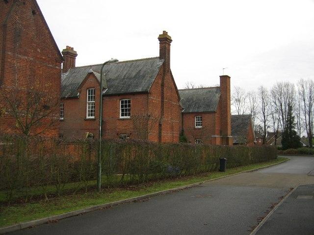 Side view of St Thomas' Nursing Home