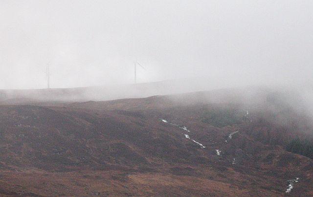 New turbines, Coire nan Gearran