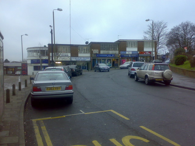 Shops, Sayes Court Road, St Paul's Cray