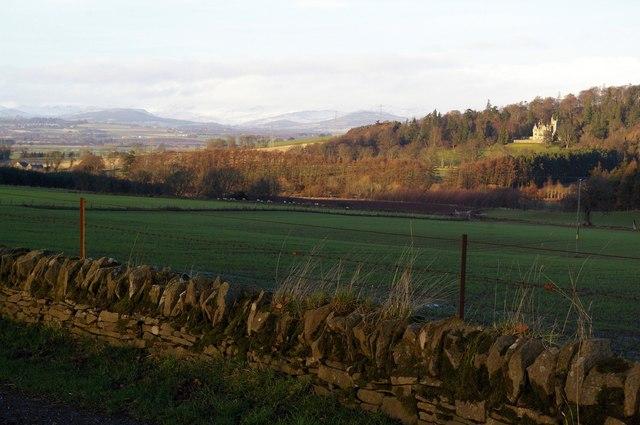 View of Kinnettles, Angus