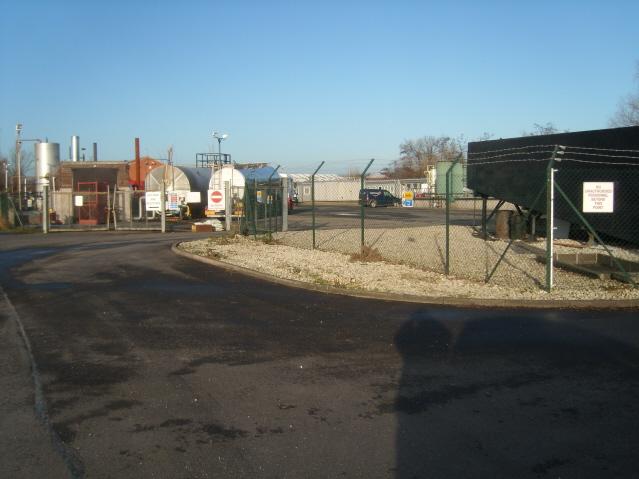 Oil storage depot