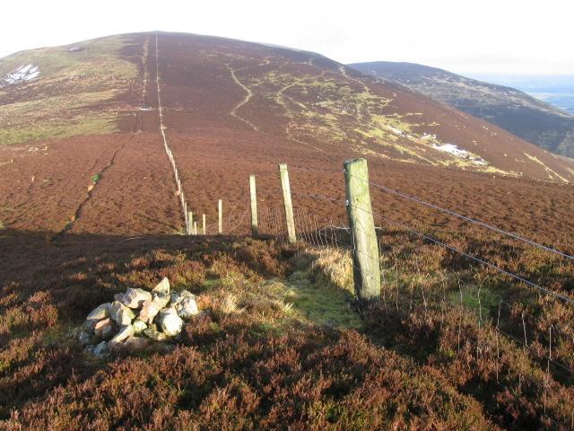Ridge towards Black Mount