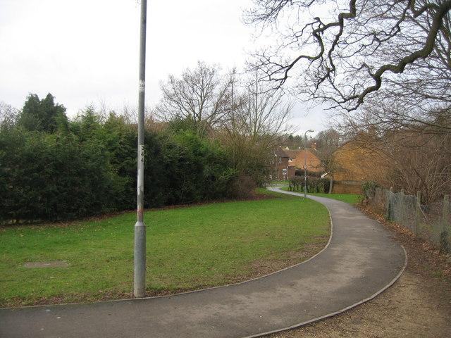 Local footpath