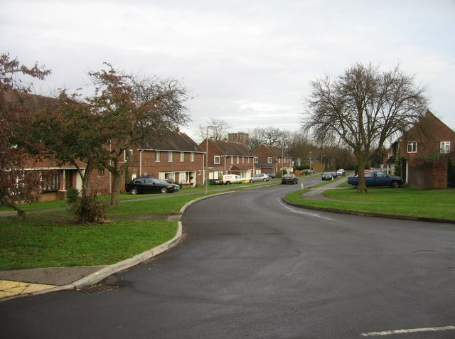 Long view of Sutton Road