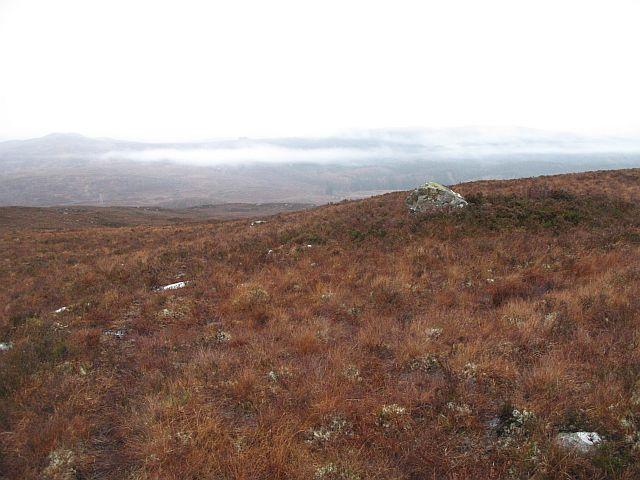 Moorland above the Great Glen