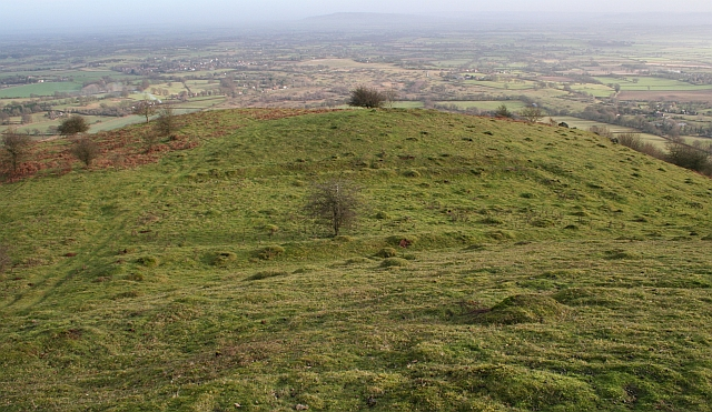 Enclosure Ditches on Hangman's Hill