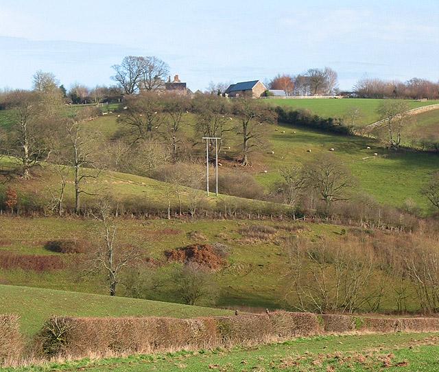 Hillside  near Crossington Farm