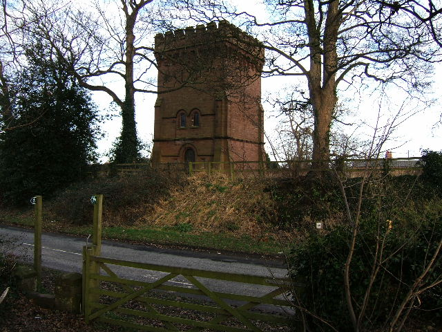 Water Tower in Saighton, near Chester
