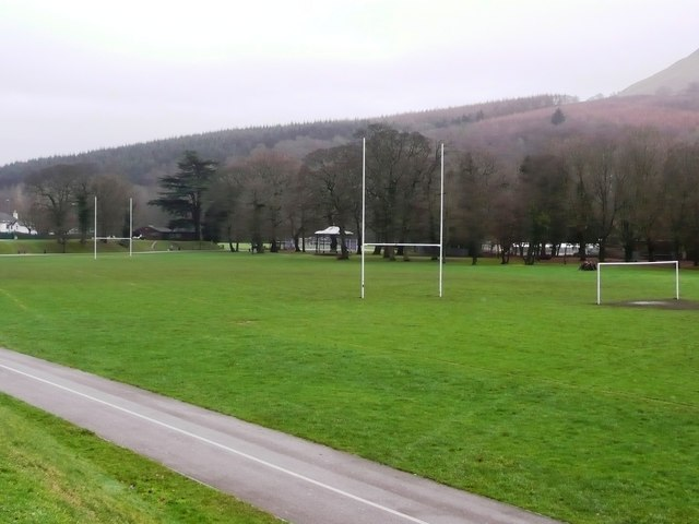 Crosskeys rugby pitch
