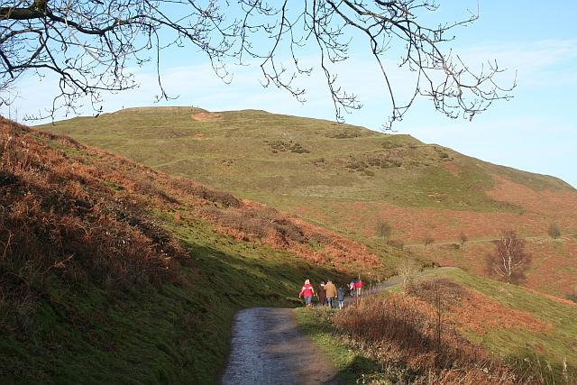 Path below British Camp