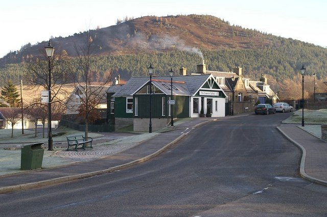 Craft shop in Braemar