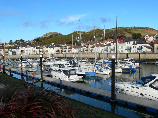 Boats in the Marina, Deganwy