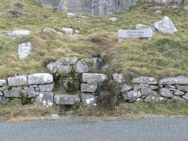 Ffynnon Gaseg, Great Orme