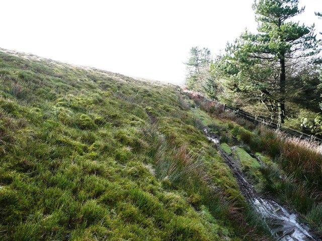 Path above Craig Furnace