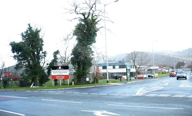 An entrance to the Penamser Industrial Estate