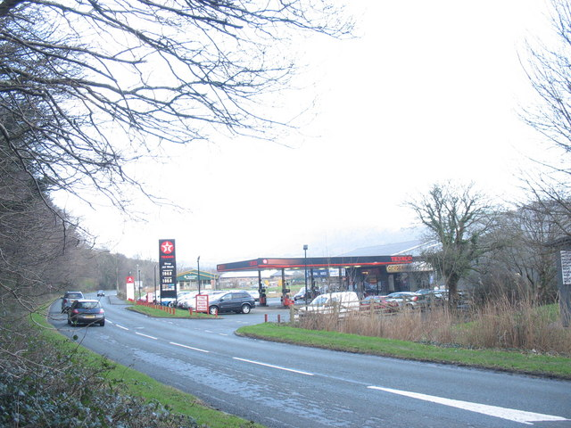 Texaco Service Station, Penamser Road