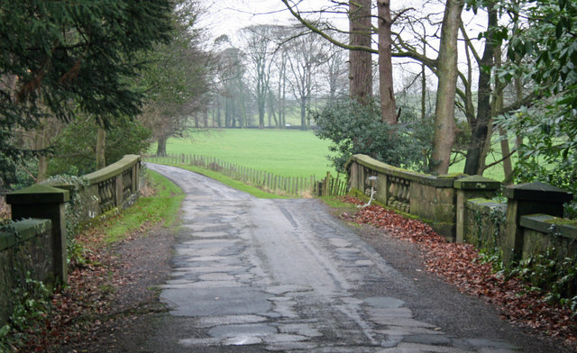 Road way over Ellel Grange Bridge